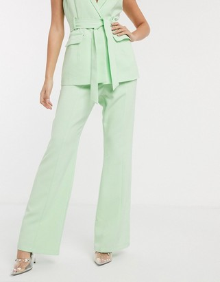 4th + Reckless tailored pants in mint