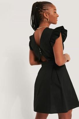 NA-KD Buttoned Back Cotton Dress