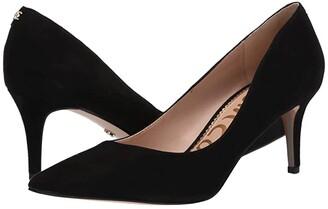 Sam Edelman Jordyn (Black Suede Leather) Women's Shoes