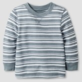 Circo Toddler Boys' Long Sleeve Henley Shirt Nimbus Cloud