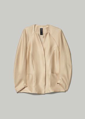 Zero Maria Cornejo Women's Evening Arte Jacket in Nude Size 6