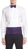 David Donahue Men's Paisley Cummerbund & Silk Bow Tie Set