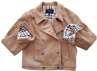 Burberry Camel Denim - Jeans Jacket for Women