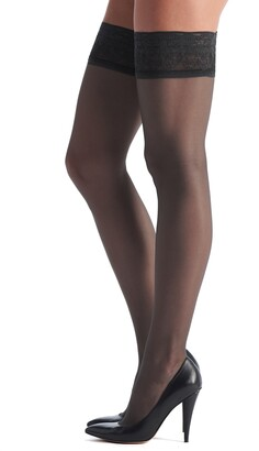 Oroblu Soiree 15 Thigh High Stay-Up Stockings
