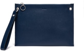 behno Lily Pouch Nappa Navy