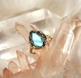 Logan Hollowell - New! Queen Labradorite Water Drop Ring