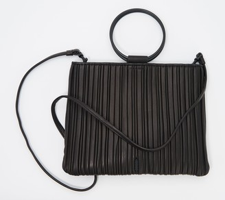 THACKER Convertible Pleated Lamb Leather Pouch - Le