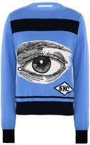 Stella McCartney eye intarsia jumper