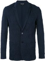 Emporio Armani welt pockets blazer - men - Cotton - XL