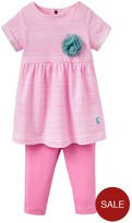 Joules Girls Seren Dress And Legging Outfit