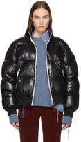 Acne Studios Black Down Cilla Puffer Jacket