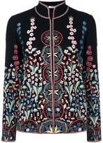 Vilshenko embroidered fitted jacket