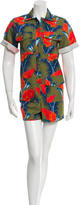 House of Holland Floral Print Romper w/ Tags