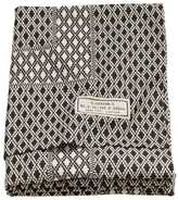 H&M Patterned Tablecloth - Natural white/charcoal gray