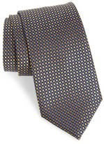 Nordstrom 'Small Neat' Geometric Silk Tie