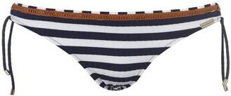 Watercult Sea Ribbed Tie Up Bikini Briefs