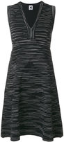 M Missoni V neck sleeveless dress