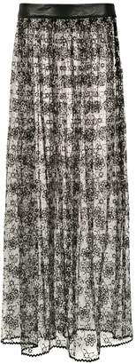 Andrea Bogosian long lace skirt