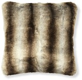 Williams-Sonoma Faux Fur Pillow Cover, Striped Wolf