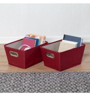 Honey-Can-Do Set of Two Small Storage Bins