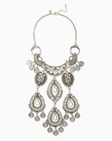 Charming charlie Dangling Coins Statement Necklace