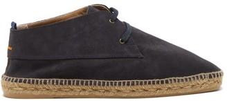 Castaner Bruno Suede & Jute Desert Boots - Navy