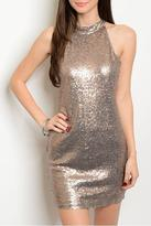 Alythea Sparkle Sleeveless Dress