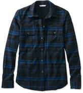 L.L. Bean L.L.Bean Signature Lightweight Flannel Shirt, Plaid
