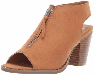 LFL by Lust for Life Women's LL-Zen Ankle Boot Cognac Suede 10 M US