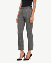 Ann Taylor The Tall Ankle Pant In Herringbone - Kate Fit