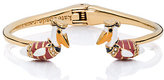 Kate Spade Taking flight pelican open hinge bangle