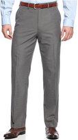 MICHAEL Michael Kors Grey Mini-Stripe Dress Pants