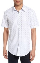 James Campbell Men's Short Sleeve Sport Shirt