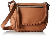 Milly Astor Whipstich Saddle Cross-Body Bag