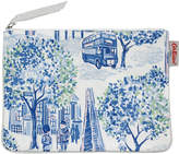 Cath Kidston London Toile Cotton Zip Purse