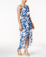 Thalia Sodi Printed High-Low Maxi Dress, Only at Macy's