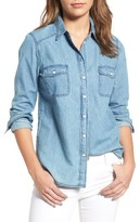 Cupcakes And Cashmere Women's Catalina Denim Shirt
