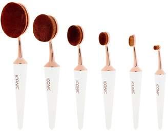Iconic London ICONIC LONDON White Complete Face 6 Brush Set
