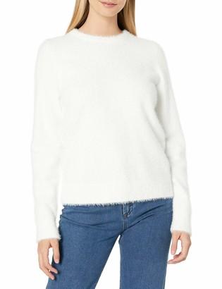 Lucky Brand Women's Crew Neck Eyelash Sweater