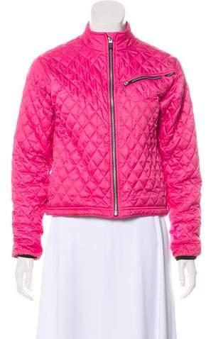 Obermeyer Long Sleeve Short Puffer Coat