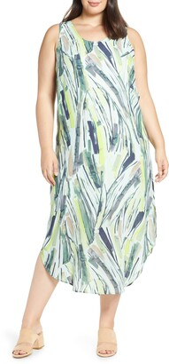 Nic+Zoe Palm Maxi Dress