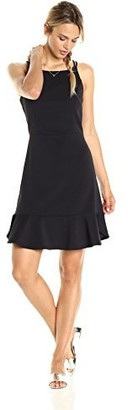 Paris Sunday Women's Sleeveless Bottom Flounce Dress