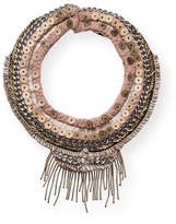 Mignonne Gavigan Petite Layne Beaded Necklace, Nude