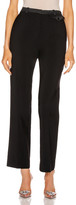 Paco Rabanne Wool Tailored Pant in Black | FWRD