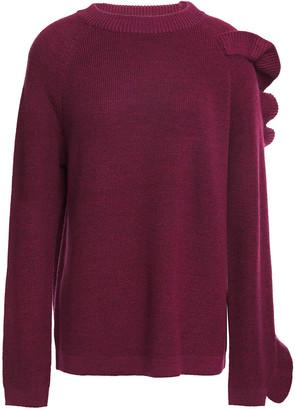 Paper London Montana Ruffled Wool-blend Sweater