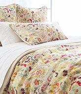Pine Cone Hill Ines Paisley Linen Duvet