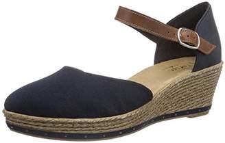 Rieker Women's 60451-14 Heels Sandals, Blue (Navy), 8 UK