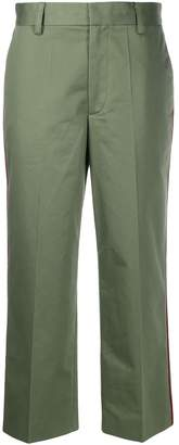 Marc Jacobs Contrast Piping Cropped Trousers