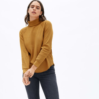 Everlane The Organic Cotton Turtleneck Waffle Tee