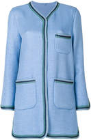 Ermanno Scervino straight-fit buttoned jacket